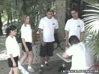 Гаряча латинська ціпонька підлітковий вік хардкор статтєві зв'язки