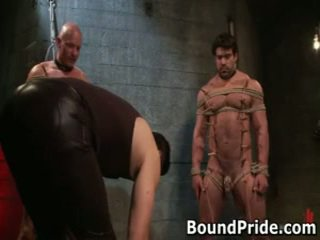Brenn And Chad In ExtraorDinary Gay Bondage And Punishment 14 By Boundpride