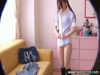 brunette hq, any japanese, uniform