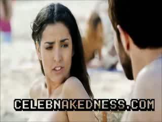 Celeb inma cuesta topless Sun Bathing big breasts on beach