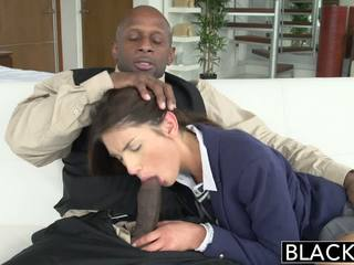 Blacked echt model august ames loves zwart lul