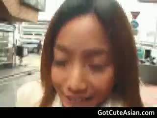 brunette, japanese, outdoor, hairy