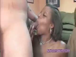 Slutty אישה savanna ב a רביעיה עם אבוני ana