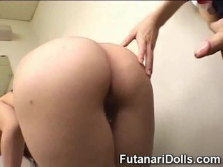 Futanari Cums On Schoolgirl!