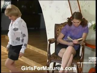 Esther And Irene Pussyloving Mom Onto Video