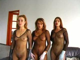 Slave slut in s sex orgy Video