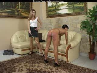 Spank Roberta bdsm bondage slave femdom domination