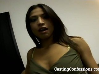 Jaena oso goes wild in her first casting session
