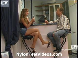 Diana und adrian nifty strumpfhose füße aktion