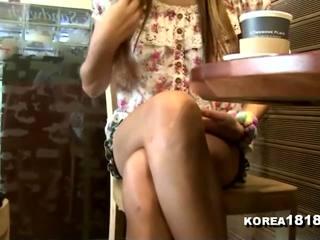 voyeur, massage, coréen