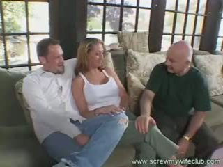 Vợ enjoys một băng đảng bang