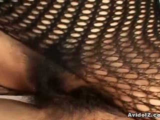 you japanese see, fishnet check, see bodystocking watch