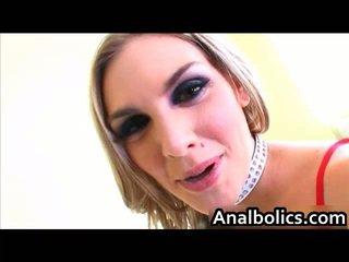 Skanky Brianna Love Takes Her Butt Creamed