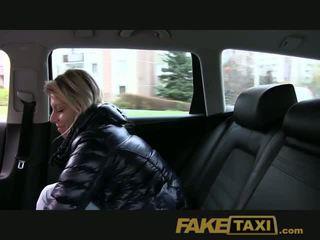 Faketaxi randy blond milf loves the riist