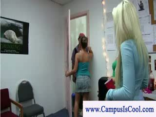 College rules wet shirt contest with dolls going wild