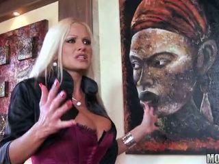 Hot MILF Sharon Pink Fucks Her Landowner Video