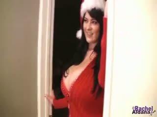 Rachel Aldana Dresses Up For The Christmas Season