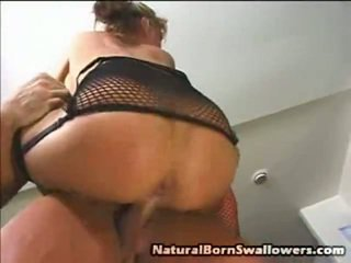Dirty Black Haired Tory Lane Poses In Fishnet Lingerie, Revealing Off Her Fake Knockers And Fine Ass. She Lays Back Onto A Kitchen Counter To Have Her Snatch And Ass Hole Tunnel Eaten Out By The Spicy