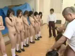 日本, 女学生, gun