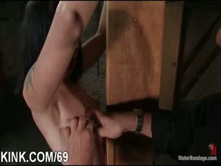 Sexy hot model dominated and fucked