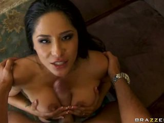 Sizzling Honey Jenaveve Jolie Receives A Taste Of Her Man's Shlong Dipping In This Boyr Mouth