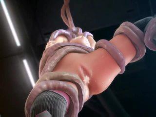 3de animated prostor punca zajebal s tentacles