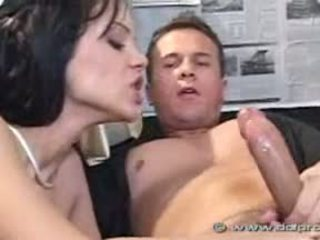 brunette, young, blowjobs