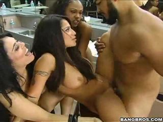 check brunette, hottest blowjob, black hot