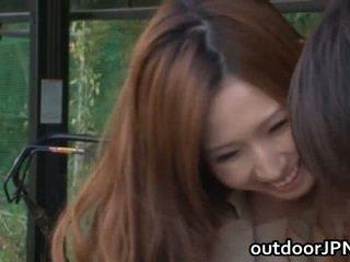 Ai Sayama Chinese Gal Has Open Air Having Sex