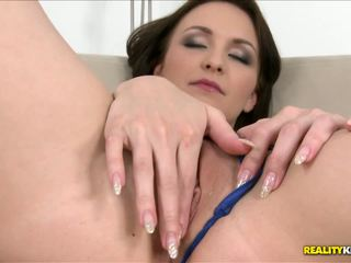 Girlfriend looks great with a dick in the holes.