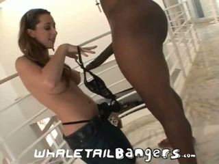 "Unfaithful Housewives: Kaylynn picked up by 12"" of monster black dick"