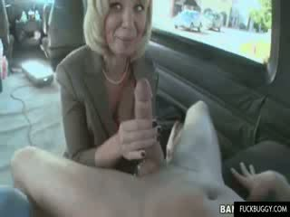 Office Escort sucks shaft