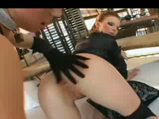 Extreme bum acrobats and colon licking