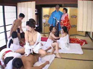 japonais, orgie