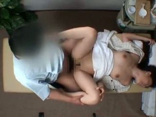 Mosaic; reluctant femme seduced par masseur