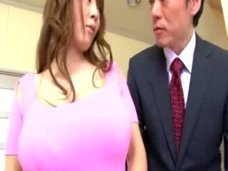 Busty asian slut tit groped by horny guy