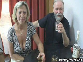 old man old and young mature milf granny grandpa