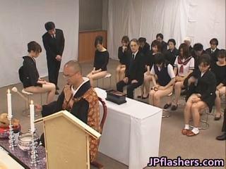 जापानी, सार्वजनिक सेक्स, दृश्यरतिक, प्राच्य