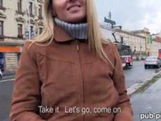 Eurobabe Zuzana Drilled With Stranger