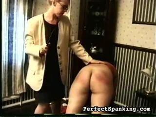 Hot Perfect Spanking Video Starring