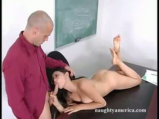 Slutty Bookworm AdriAnna Faust Filling Her Mouth With A Knob Until Sthat Guy Chokes