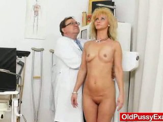 Mother Has A Cute Gyno Checkup