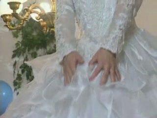 Blondīne eiropieši līgava gets licked un pakaļa fucked