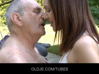 opa, muschi lecken, oldman