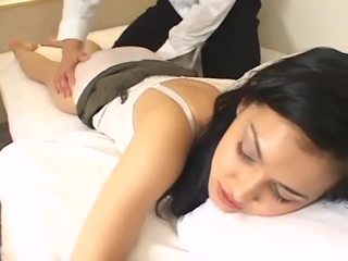 Maria ozawa massaged then fucked