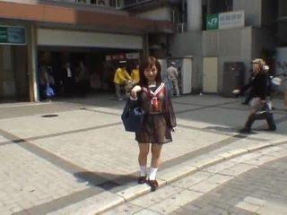 japonijos, voyeur, mėgėjų mergina