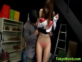Orientální prostitutka stripped a tápal