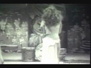 Vintage exotisch dancer