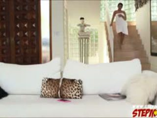 Stor pupper ada sanchez shares kuk til stemor diamond kitty