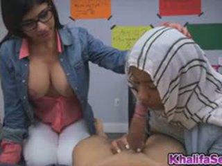 Cutie Babe Mia Khalifa Grabbing A Meaty Cock